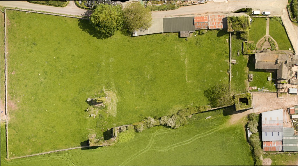 Aerial view of the site © Aerial-cam