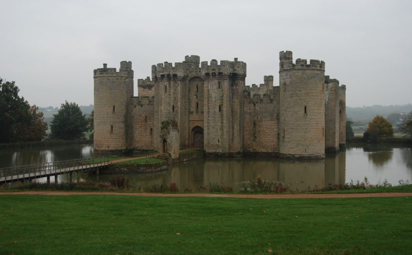 Bodiam Castle and the exploration of space