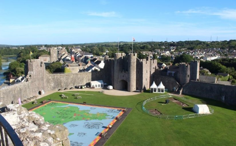 Pembroke Castle 2018 Excavations – the results