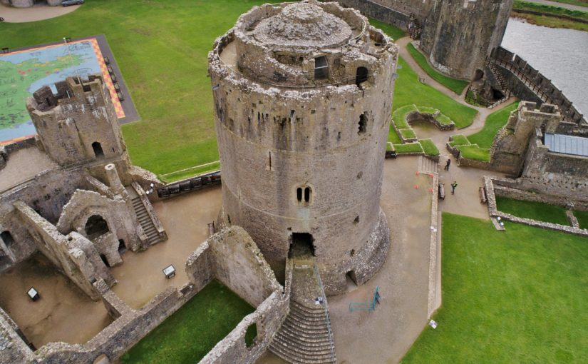 Pembroke Castle keep – William Marshal's statement in stone