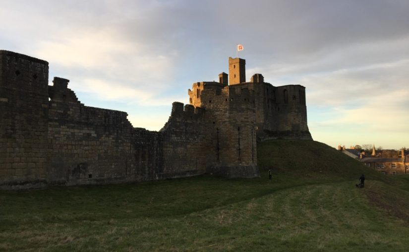 St John's Close and the edge of the Park: the landscape of Warkworth