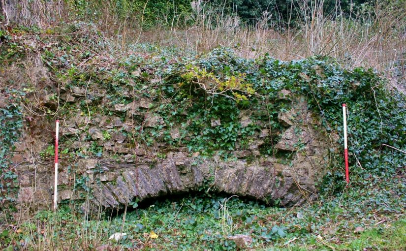 Haverfordwest's town wall revealed?