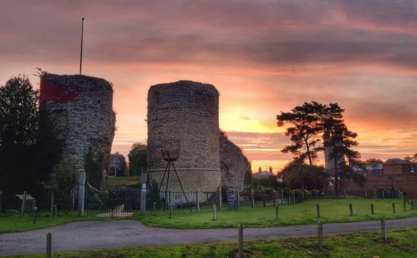 Unearthing past excavations of Bungay Castle