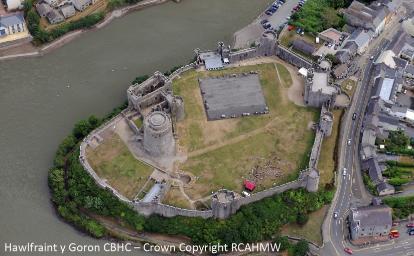 Geophysical survey at Pembroke Castle