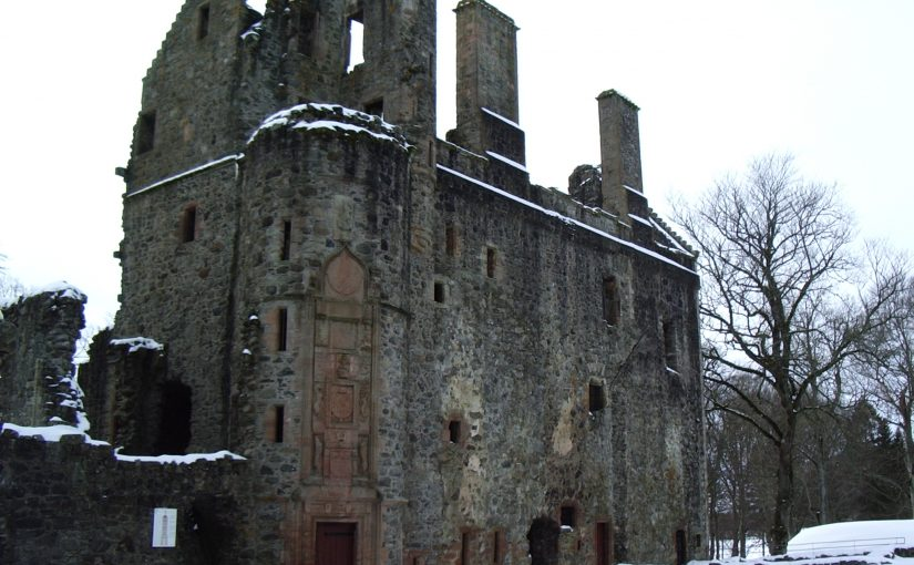 Huntly Castle: A Warm Place in the Cold Scottish Winter