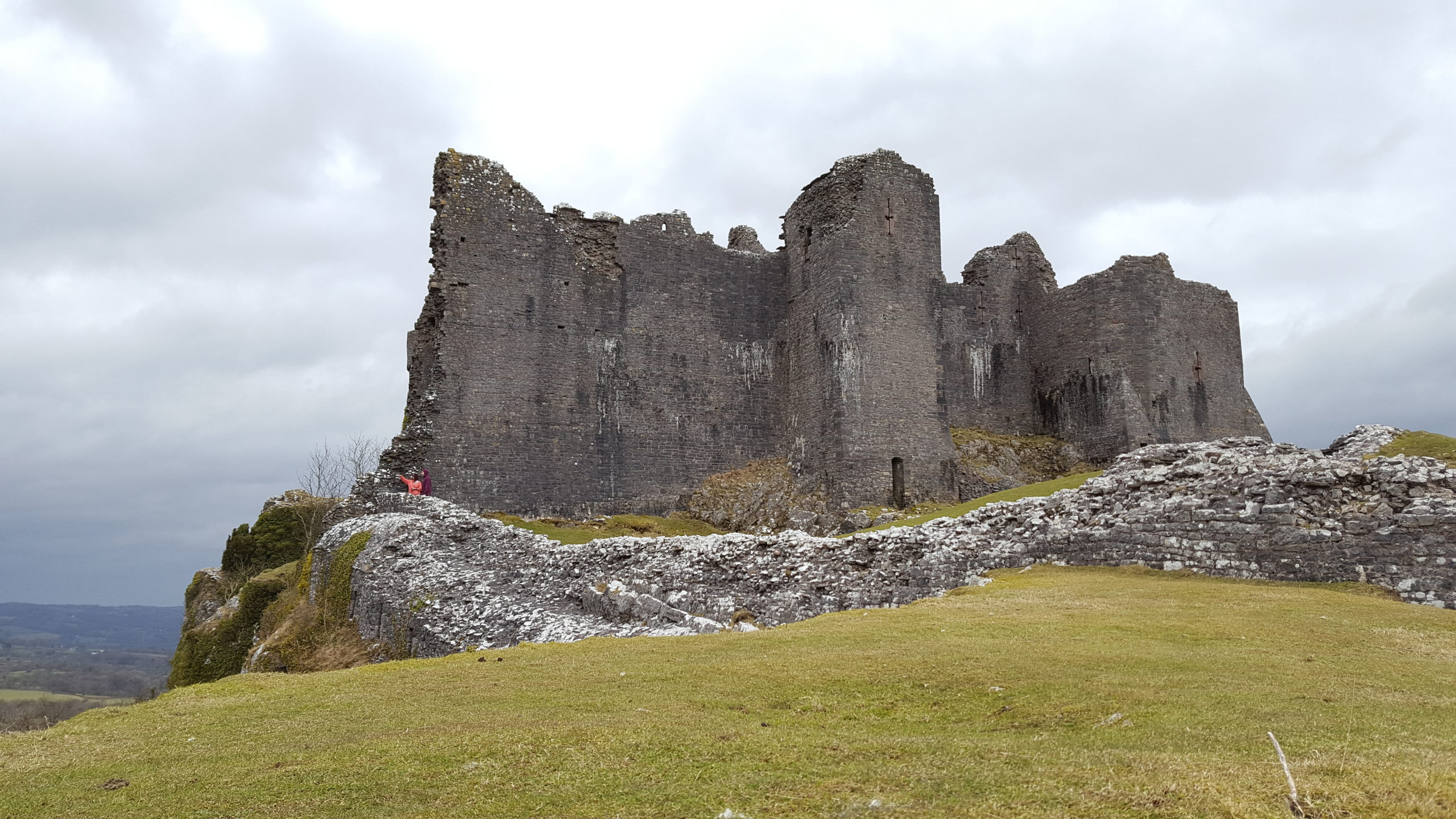 Carreg Cennen in the Wars of the Roses
