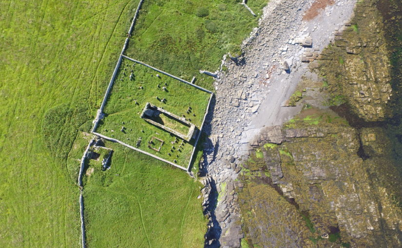 Geophysical survey at The Wirk reveals buried walls of the hall
