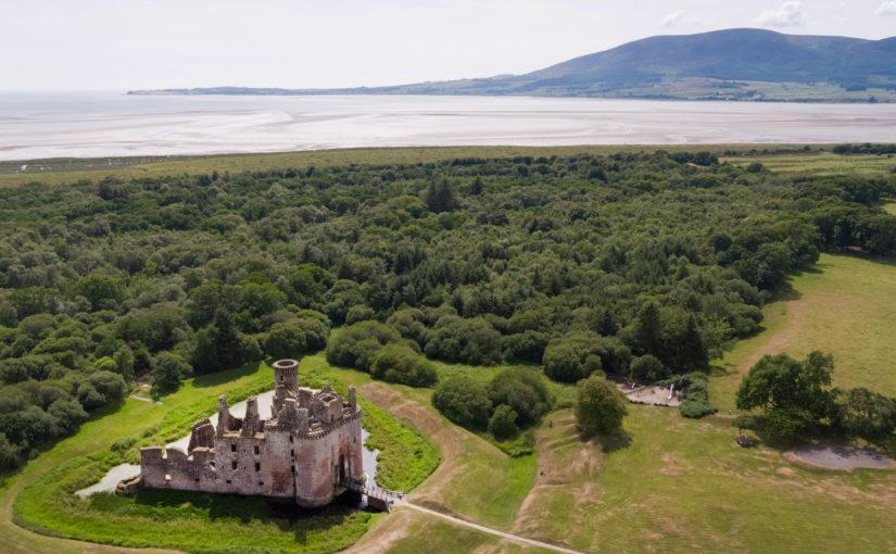 Medieval Climate Change at Caerlaverock – Fieldwork Week One