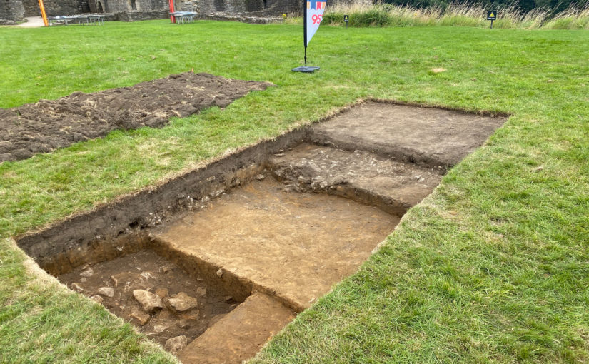 Richmond Castle Excavations Day 6: Pause and Re-Evaluate