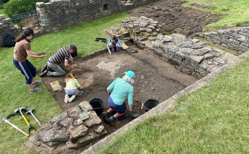 Richmond Castle Excavation Day 17: Another Trench! (and some more cameras)