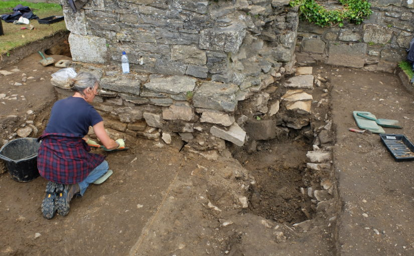 Richmond Castle Excavation Day 14: Another eventful week!
